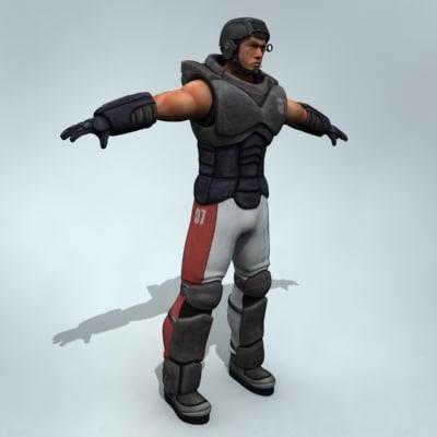 maya marine soldier