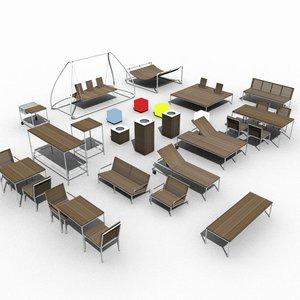 3d exterio furniture