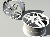 3dsmax car rim