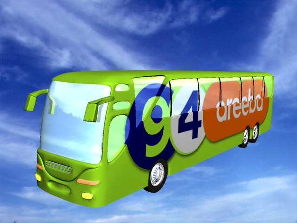 free bus 3d model