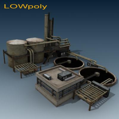 3d refinery odel