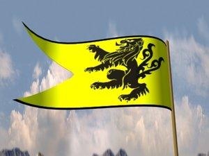 3ds max heraldic banner