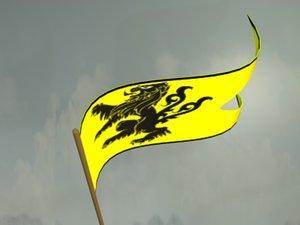 max heraldic banner