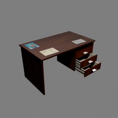 3d model table work