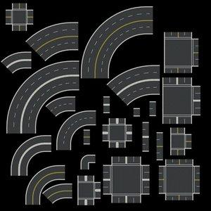 road v1 1 3d model