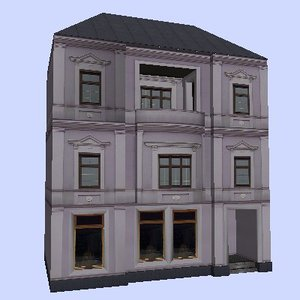 3ds max house building