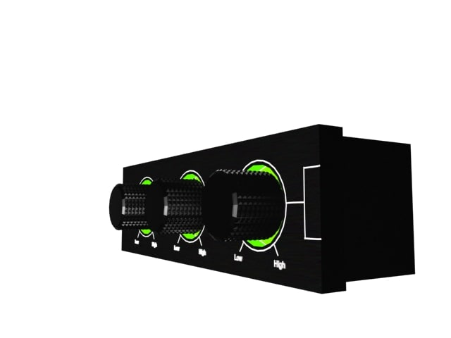 3d fan controller model