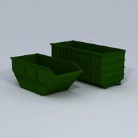 container 3d c4d