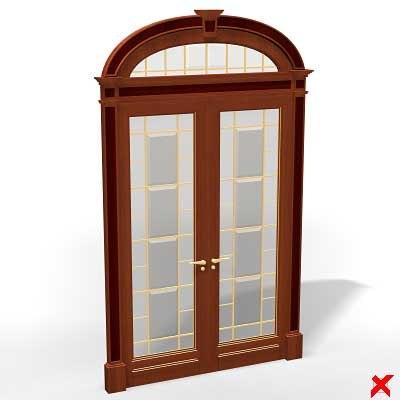 3dsmax glass door
