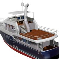 yacht 80 boat 3d pz3