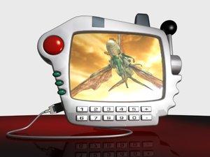 handheld pda gadget 3d max