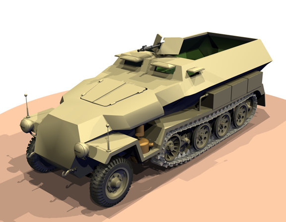3ds sdkfz 251c