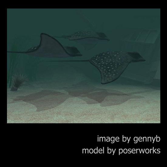 poser aquatic stingray pzstingray
