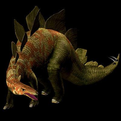 dinosaur poser 3d model
