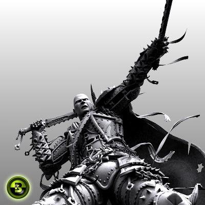 3ds max warrior fantasy war
