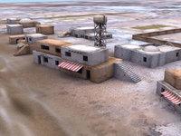 maya arab building desert town