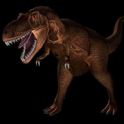 rex trex t 3d model