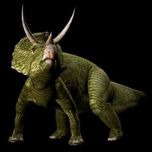 poser triceratops dinosaur poser