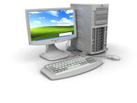 lightwave hp server computer monitor