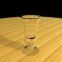 glass snifter 3d model