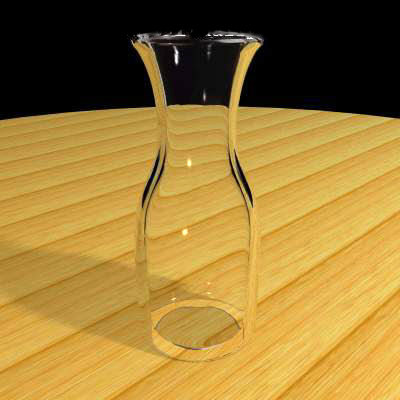 3ds max carafe glass