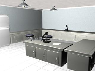 3d medical room model