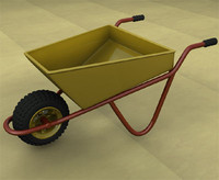 3ds wheelbarrow