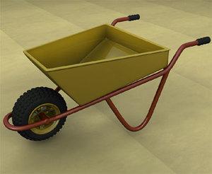 3ds wheelbarrow