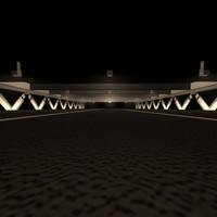 parking structure 3d model