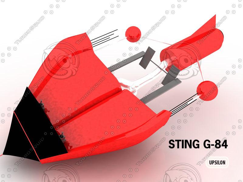 3d sting g-84 model