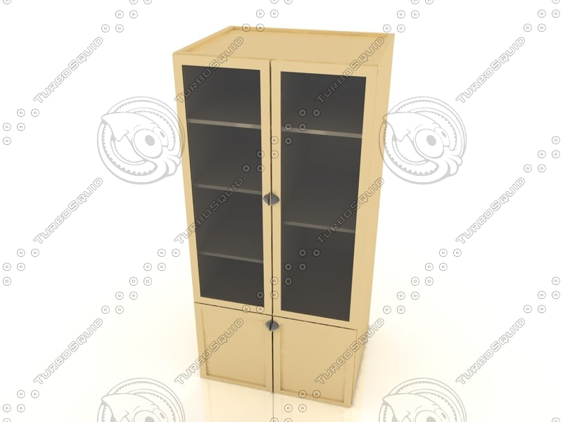 bookcase furniture c4d