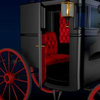 pz3 antique london cab carriage