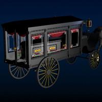 poser antique hearse