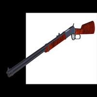 3d model winchester carbine rifle pzcarbine
