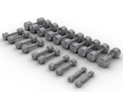 3dsmax weights exercise