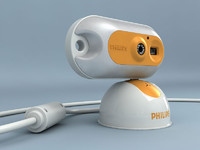 3d model of webcam funcam