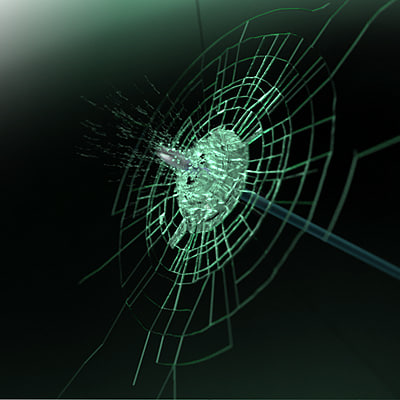 Animated Glass Fracture (VRay)