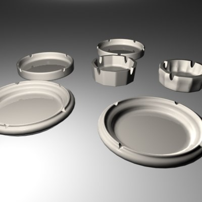 3ds max ash tray