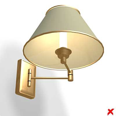 3d max wall lamp