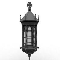 old lantern ships 3d max
