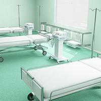 Hospital IT room