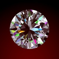cut diamond 3d model