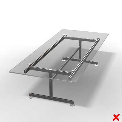 3d model table desk