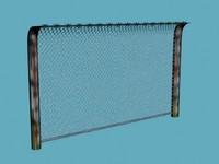Extreme low poly ww2 fence