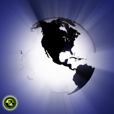 globe - 2 3d max