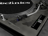 3d technics 1210 turntable model