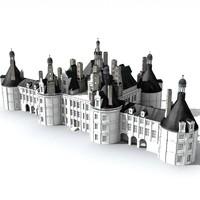 3d model castle
