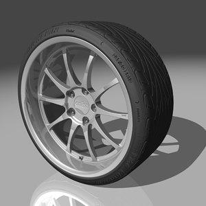 kinesis f110 tires max