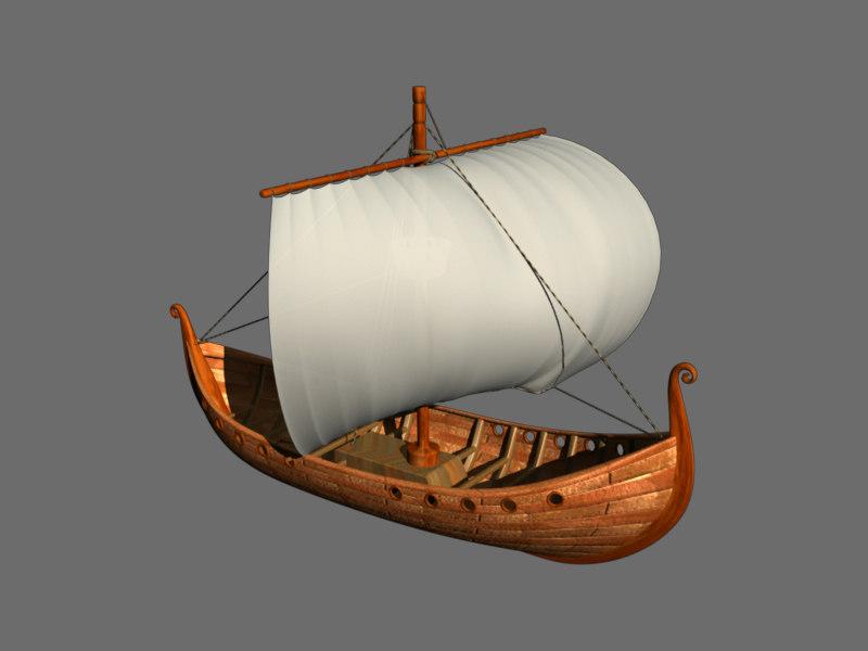 3d model medieval vikings
