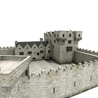 3ds max donegal castle
